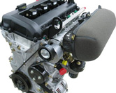 Production and development of high-performance engine