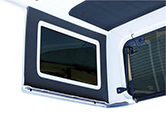 Jeep Wrangler Side Window Trim Kit